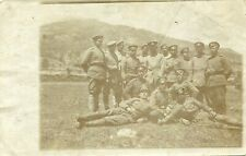 photo postcard (G52) military  not travelled