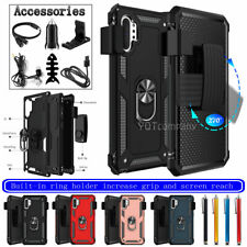 For Samsung Galaxy Note 10/Plus Magnetic Ring Case Shockproof Cover/Belt Clip