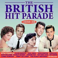 BRITISH HIT PARADE 1956-1958  2 CD DORIS DAY DEAN MARTIN UVM NEUF