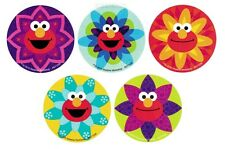 10 Sesame Street Elmo Glittery Stickers Kid Party Goody Bag Filler Favor Supply