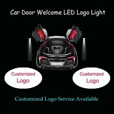 2 x Customized Logo Car Door Welcome Laser Projector Ghost Shadow LED Logo Light