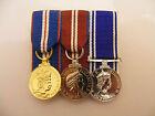 QGJM,QDJM Police LSGC Miniature Medal Court Mounted (jubilee gold diamond)