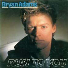 "BRYAN ADAMS - RUN TO YOU / IT'S ONLY LOVE 7"" (S4321)"