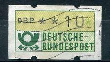 ALLEMAGNE, 1981, timbre de distributeurs n° 1, valeur 10 p., oblitéré
