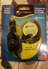 NIP MOBILESPEC 12-V CELLULAR CHARGER,MICRO-USB, 6' CORD, 3.5mm COILED CORD