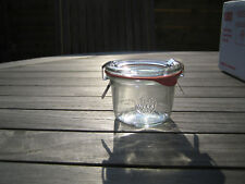 Weck® Canning Jar 2.7 fl.oz / 80ml with clamps and rubber ring