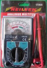 Analogue Multi-Tester. Analogue MultiMeter.This multi-tester is a rectifier type