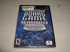 FACTORY SEALED BRAND NEW PLAYSTATION 2 ULTIMATE BOARD GAME COLLECTION 20 CLASSIC