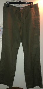 NEWJuicy Couture Olivegreen Low Rise Sm Cargo Style Pant Drawstring Zip Button