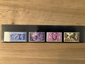 1948 GB Olympic Games SG 495-498 Mint never hinged