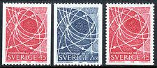 Sweden 790-792, MNH. Electron Orbits, 1968