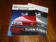 Nissan Sunny Prospekt 04/1992