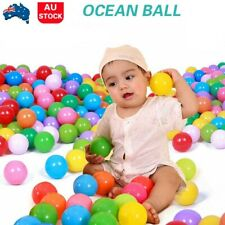 1600x Soft Ocean Ball Pit Balls Play Kids Plastic Baby Toy Colourful Playpen Fun