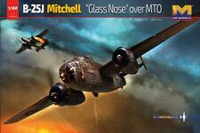 HK Models #01E024 1/32 B-25J Mitchell Glass Nose over MTO HongKong Model 01E024