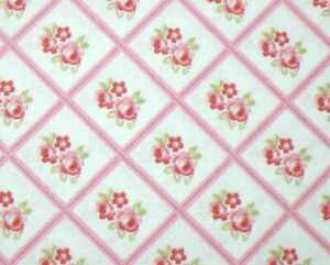 Tanya Whelan Cottage Shabby Chic Lulu Roses Libby PWTW095-Pink BTY