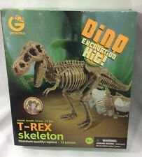 GeoWorld DINO EXCAVATION Kit T-REX NEW Rare Paleontologist DR Steve Version toy