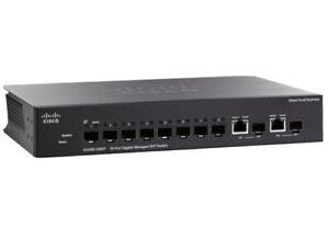 Cisco  Small Business Smart (SG300-10SFP-K9) External Switch Managed