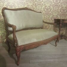 Maison de poupées 12th 18th c. français chaises & canapés set chestnut AD12/14