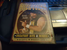 WWE - Mick Foley: Greatest Hits & Misses (DVD, 2004, 2-Disc Set)