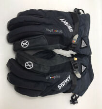 Man's Swany Tri-plex Gloves Suede and Leather/size Mens Small/free Shipping/EUC