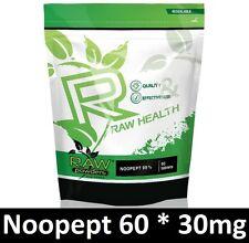 RAW Powders 60 tab x 30mg for memory and brain function