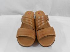 Clarks Unstructured Un.Rev Womens US 7 Leather Sandal Shoe Tan 63876 Sample