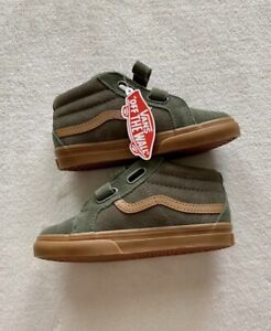VANS Sk8-Mid Reissue V Sneaker Shoes Boys Youth Size 1.5