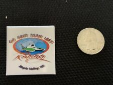 Seattle Seafair Go Fast And Turn Left Hydroplane Button Pin