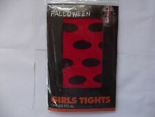 REAL HALLOWEEN/ GIRLS TIGHTS/RED DOT