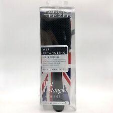 Tangle Teezer The Large Wet Detangler - Black Gloss #7539 NEW DAMAGED BOX