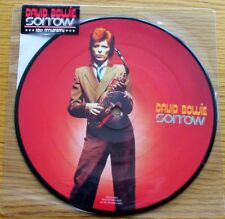 "DAVID BOWIE Sorrow 2013 40th ANNIVERSARY LTD  7"" VINYL PICTURE DISC"