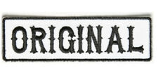 Original Patch Black On White - 3.5 x 1 inch By Ivamis Trading P5002 Free Ship