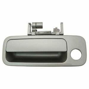 Door Handle Exterior Gray Front L Left Driver Side for 97-01 Toyota Camry ES300