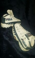Vintage Fila Sneakers 6.5 Unisex Old School Sporty Leather, Very Good Condition
