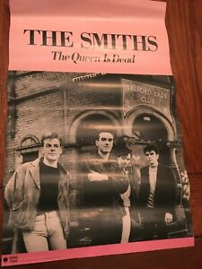 The Smiths /'Panic/' Promo Poster 20x10 inch Framed Canvas Print