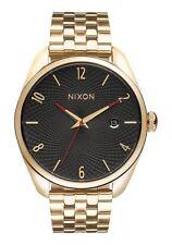Nixon A418510-00 BULLET 38mm Reloj de Mujer Acero inoxidable color oro