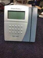 Pyramid Timetrax Ez Ttez Swipe Card Time Clock System Unit Only143