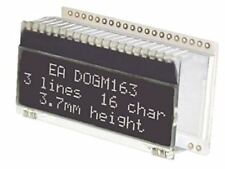 Electronic Assembly EA DOGM163S-A Alphanumeric LCD Display, RGB, White on Black,