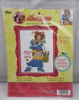"Bucilla Alma Lynne Doggy Diva Counted Cross Stitch Kit 7.125"" x 11"" #45617 ST183"