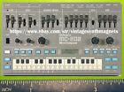 ROLAND MC 101 202 303 307 505 808 909 707 MV 1 880 DRUM SYNTH rerigerator magnet