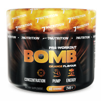 Pre Workout BOMB 240g Powder - Insane Muscle Pump & Energy - Increase Strength