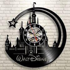 Walt Disney Vinyl Record Wall Clock Disney Gifts Handmade Art Birthday Gift