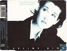 CELINE DION TU M'AIMES ENCORE uk MAXI CD 662425 2