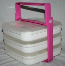 Eagle Craftstor Stor'n Go Handle Carrier w/ 3 Storage System Modules Containers