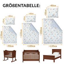 Kinderbettwäsche Kinder Babybettwäsche Bettwäsche Set 100%Baumwolle doppelseitig