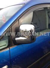 Para adaptarse a 08 - 12 Citroen Berlingo ABS Cromo Brillante Espejo cubre van Accesorios