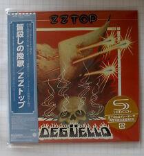 ZZ Top-degüello GIAPPONE SHM MINI LP CD OBI NUOVO! WPCR - 15172