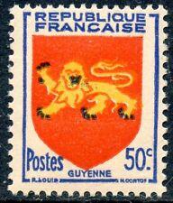 TIMBRE FRANCE NEUF N° 835 ** BLASON GUYENNE