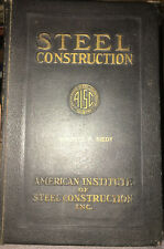 AISC Manual of Steel Construction 1st Edition 7th Print 1930 COLLECTIBLE!!