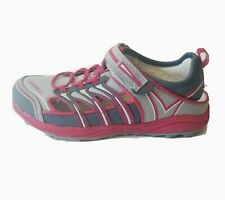 Merrell Kids Girls sz 3.5 Youth Water Shoes Sandals Mix Master H2O Pink Gray